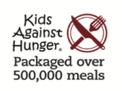 kids against hunger packaged over five hundred thousand meals